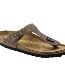 Women's Birkenstock Gizeh Thong Sandal, Size: 36 R, Tobacco Oiled