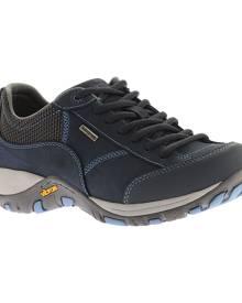 Women's Dansko Paisley Walking Shoe, Size: 42 R, Navy Milled Nubuck
