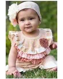 Baby Girl Shortall One Piece