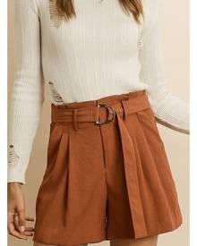 High Waisted Pleated Shorts