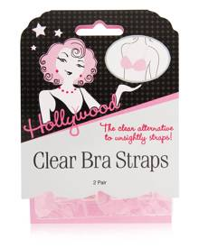 Hollywood Fashion Tape Hollywood Clear Bra Straps