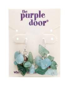 The Purple Door The Georgia Dangle Earrings