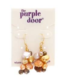 The Purple Door The Jill Dangle Earrings