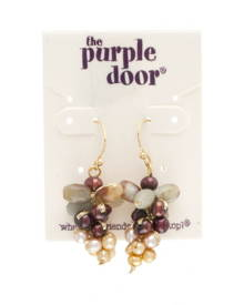 The Purple Door The Paige Dangle Earrings