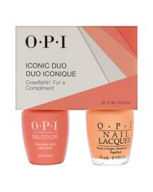 OPI Iconic GC/NL Duo - GelColor Soak-Off Gel Lacquer + Nail Lacquer