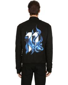 11 BY BORIS BIDJAN SABERI Reversible Cotton Bomber Jacket