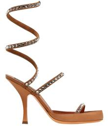 Y PROJECT 100mm Spirale Embellished Leather Sandal