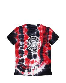 TIE DYED COTTON JERSEY T-SHIRT