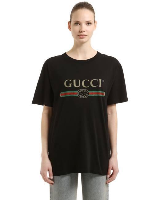 6531667fee33e3 Gucci Women's T-Shirts - Clothing | Stylicy Malaysia