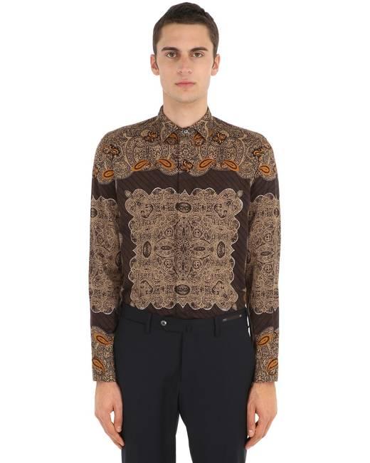 002d59fe เสื้อเชิ้ต ผู้ชาย เบจ - เสื้อผ้า | Stylicy Thailand