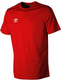 CLUB JERSEY SS S Vermillion