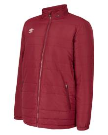 CLUB ESSENTIAL BENCH JACKET S New Claret