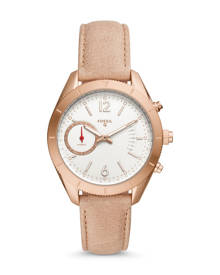 Fossil WOMEN Hybrid Smartwatch – Q Alyx Brown Leather