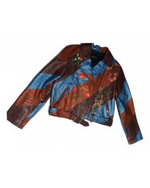 Gucci metallic Leather Jackets