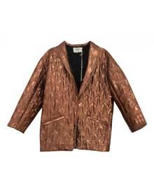 Ba&sh metallic Polyester Leather Jackets