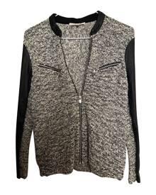 Maje metallic Leather Jackets