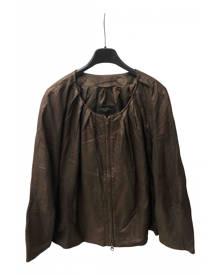 Max Mara Weekend metallic Leather Jackets