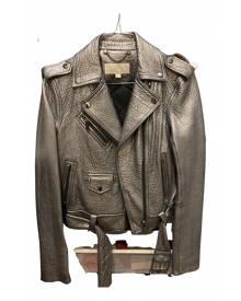 Michael Kors \N Metallic Leather Leather Jacket for Women