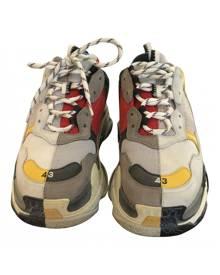 Balenciaga Track Multicolour Leather Trainers for Men