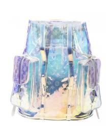 Louis Vuitton \N Metallic Cloth Backpack for Women
