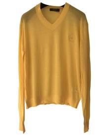 Viktor & Rolf Yellow Cotton Knitwear & Sweatshirt