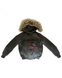Napapijri Khaki Synthetic Coat