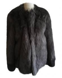 Vera Wang Faux fur coat