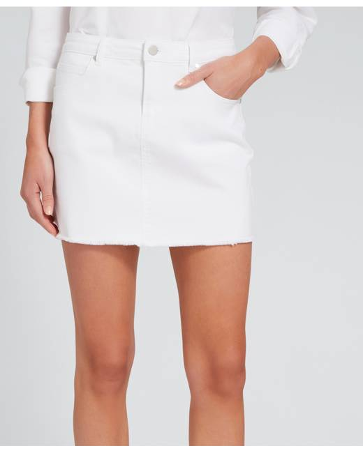 a1f9da07d6 White Women's Denim Skirts - Clothing   Stylicy Malaysia