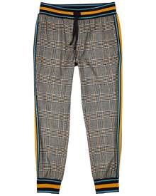 Dolce & Gabbana Checked Wool-blend Sweatpants