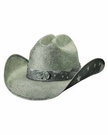 e2be3fadd1fe5 Bullhide by Montecarlo Hat Co. Bullhide Land Of Freedom - Shapeable Straw  Cowboy Hat