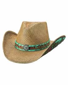 Bullhide by Montecarlo Hat Co. Bullhide I Trust Myself - Straw Cowboy Hat