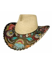 Bullhide by Montecarlo Hat Co. Bullhide Gypsy Queen - Straw Cowgirl Hat
