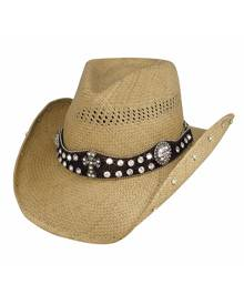 Bullhide by Montecarlo Hat Co. Bullhide More Than Words - Shapeable Straw Cowgirl Hat