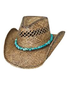 Bullhide by Montecarlo Hat Co. Bullhide Year of Summer - Womens Shapeable Straw Cowgirl Hat