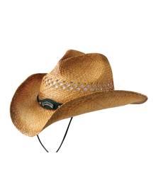 Jack Daniels Summer Haze (JD03-59) - Straw Cowboy Hat
