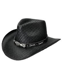 Jack Daniels Crisscross (JD03-705) - Shapeable Straw Cowboy Hat