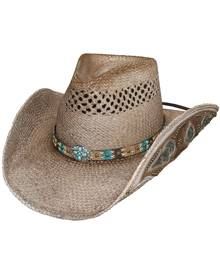 Bullhide by Montecarlo Hat Co. Bullhide From the Heart - Straw Cowgirl Hat