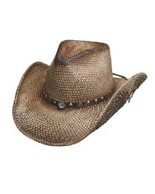 6d38ed9284480 Bullhide by Montecarlo Hat Co. Bullhide Western Inspiration - Straw Cowgirl  Hat
