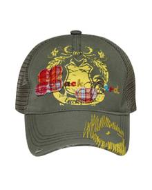 Otto Cap Plaid Trucker - Lackpard Childrens Trucker Cap
