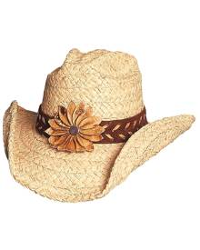 Bullhide by Montecarlo Hat Co. Bullhide Sunset - Womens Straw Cowboy Hat