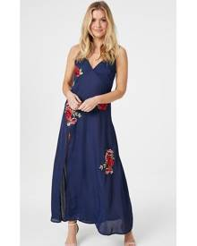 Izabel London Rose Slip Maxi Dress