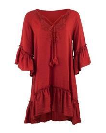 Izabel London Peplum Hem Shift Dress
