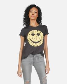 Wolf Text Happy Face - Onyx XS