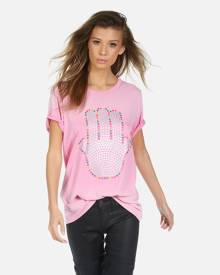 Wolf Hamsa Elements - Party Pink Ombre XS