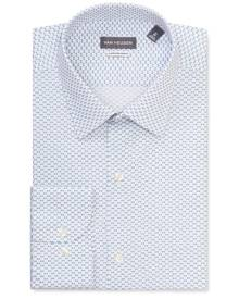 Van Heusen Business Shirts Classic Relaxed Fit Shirt Blue Wing Print