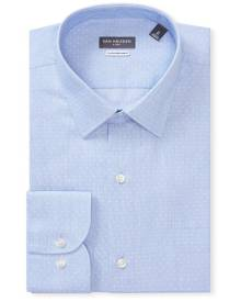 Van Heusen Business Shirts Classic Relaxed Fit Shirt Textured Spot Print