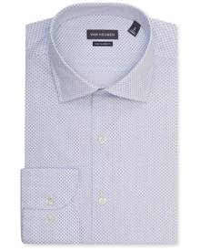 Van Heusen Business Shirts Euro Tailored Fit Shirt Emblem Print
