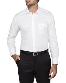 Van Heusen Business Shirts Classic Relaxed Fit Shirt Solid Colour