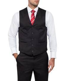 Van Heusen Suit Vests Classic Relaxed Fit Suit Vest Charcoal