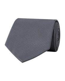 Van Heusen Ties Mens Classic Poly Ties Grey One